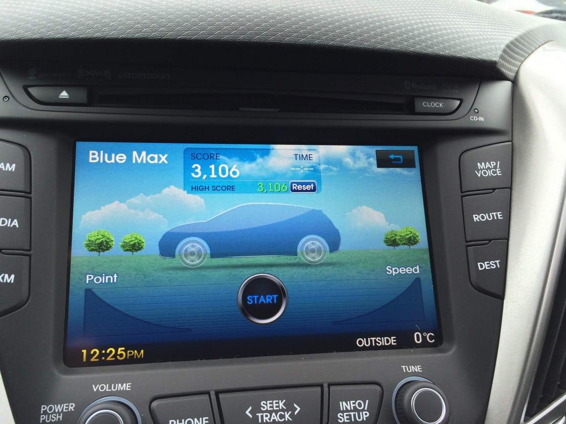 Blue Max in Hyundai Veloster | Auto Trader