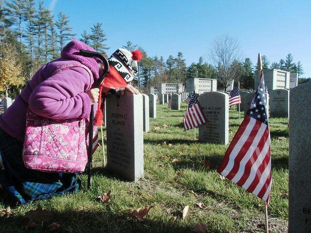veterans grave visit